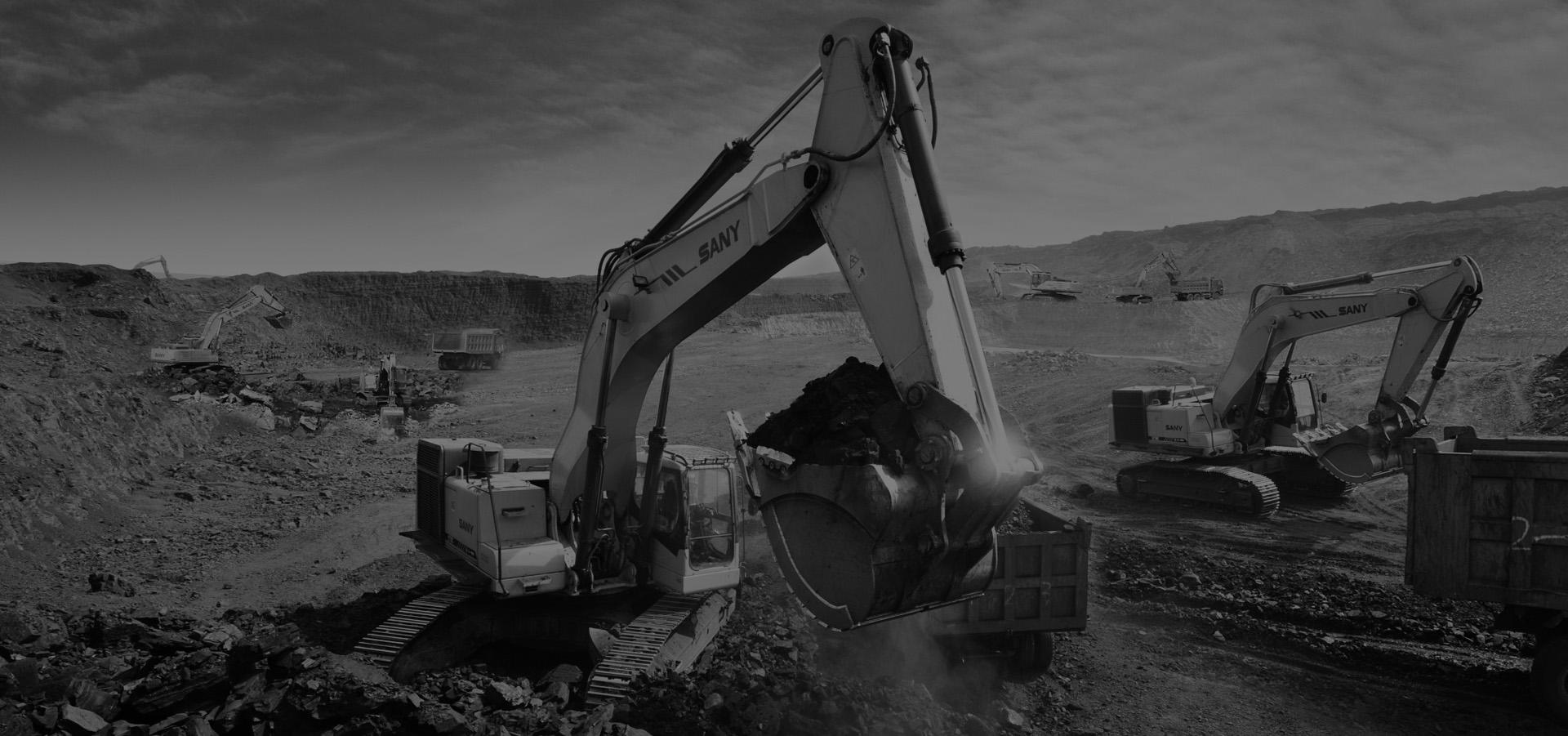 Reparación y venta de maquinaria<br> de obra pública